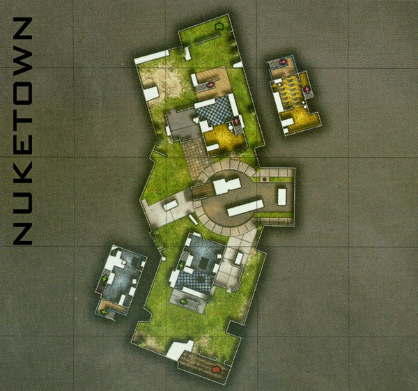 Call of Duty Black Ops MP Maps